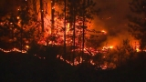 Calm weather aids crews fighting central Washington wildfire