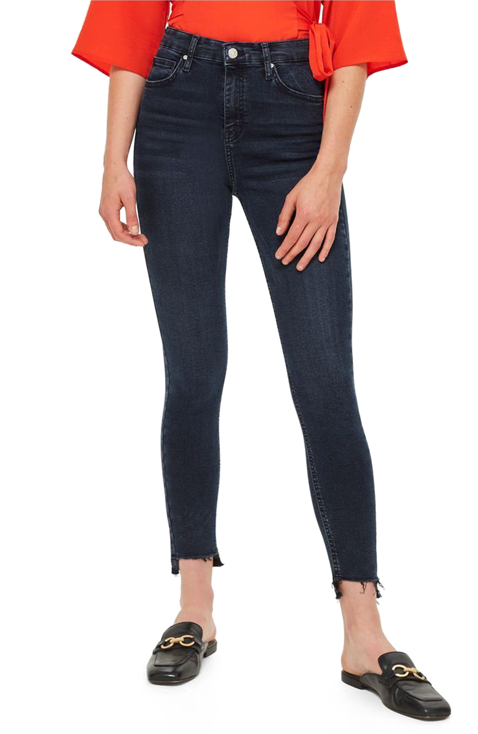 Jamie Step Hem Skinny Jeans. Sale:$49.90 / After Sale:$75.00. (Image: Nordstrom){ }
