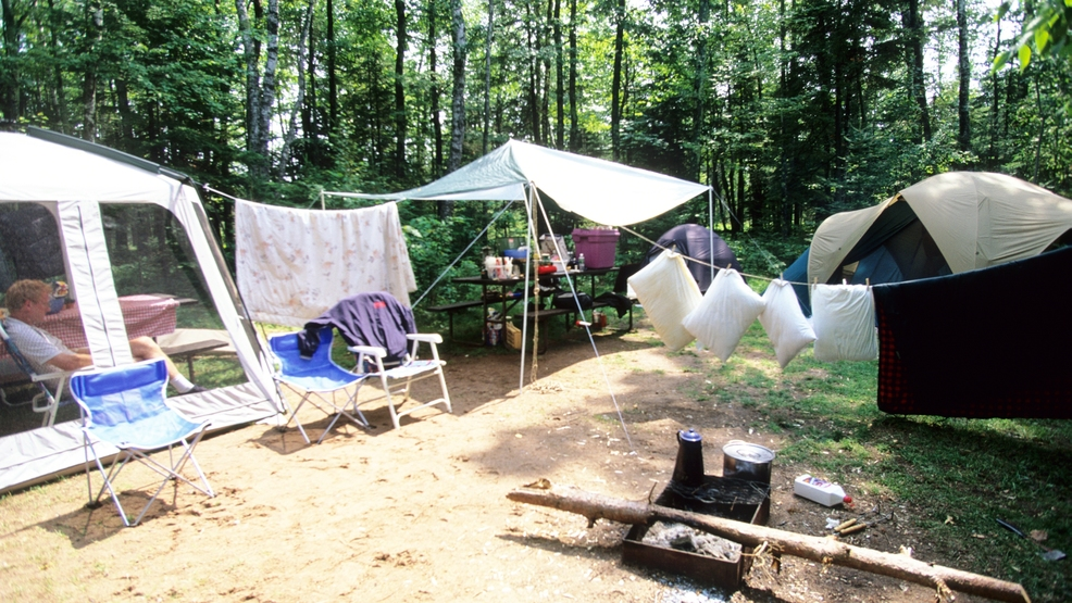 C&ing in Big Bay State Park Madeline Island (Wisconsin DNR file photo) : bay state tent - memphite.com