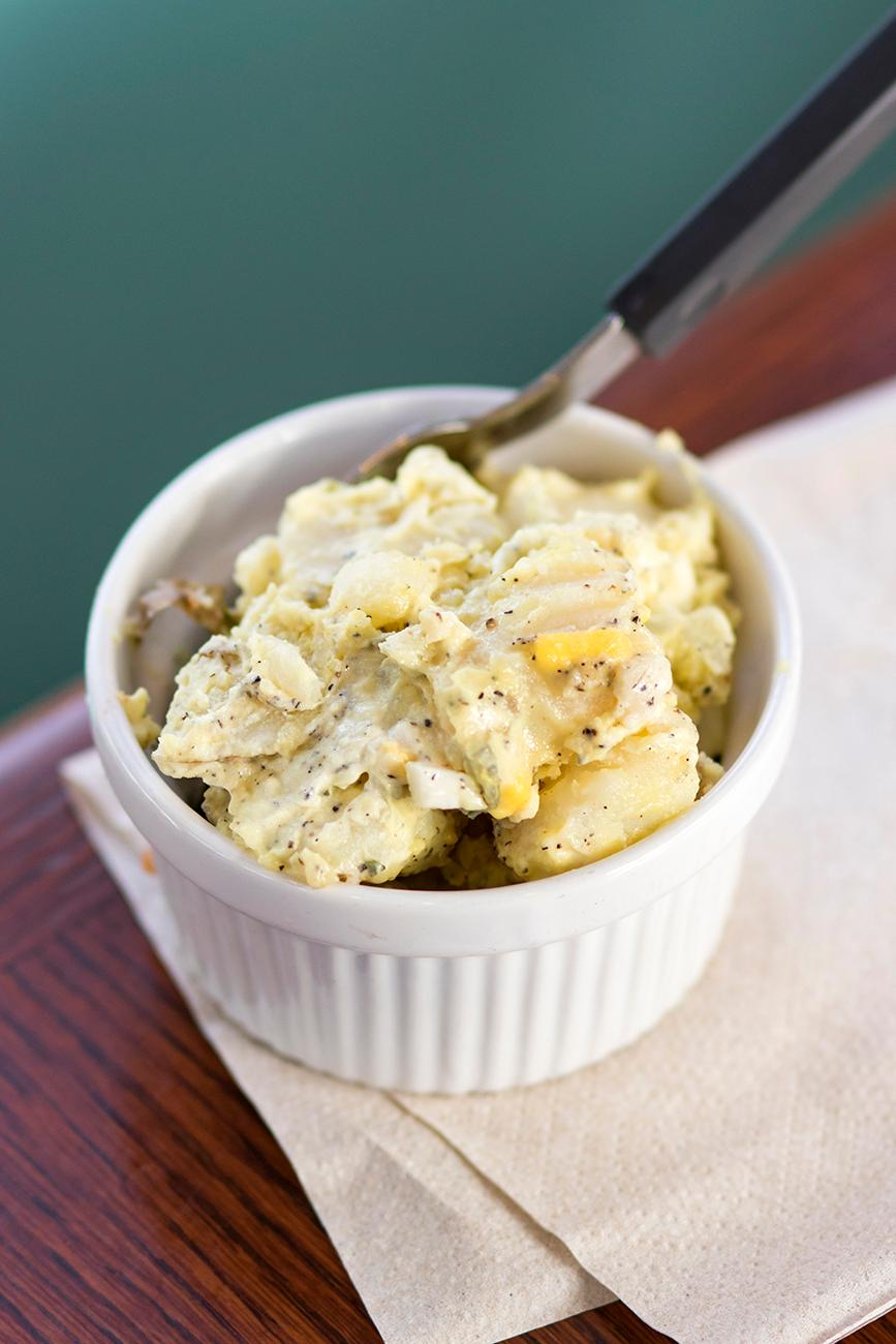 <p>Potato salad{&amp;nbsp;}/ Image: Allison McAdams // Published: 11.16.18  </p>