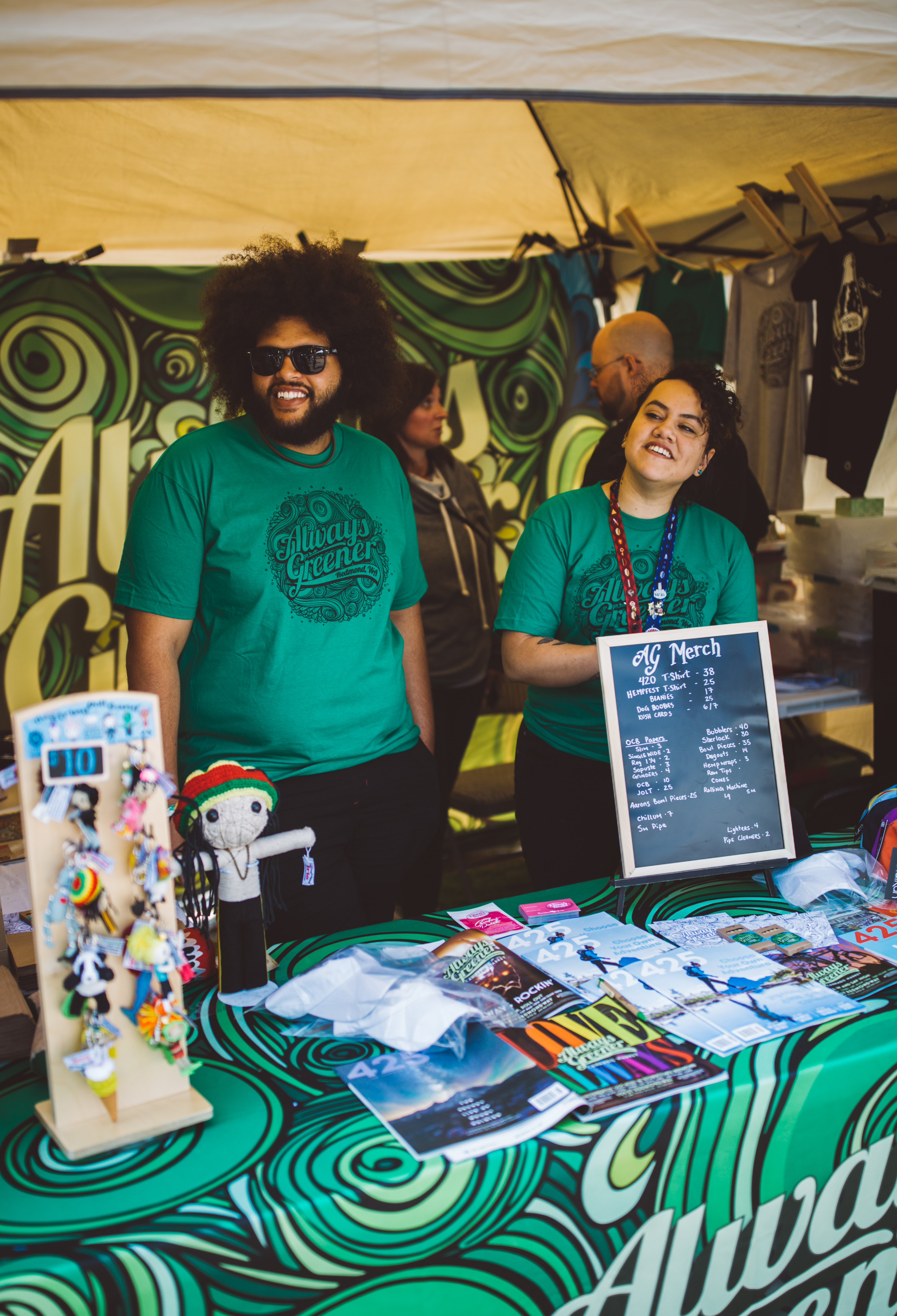 Thousands of people come out to the Seattle waterfront for the annual Hempfest! The three-day festival is the largest cannabis convocation in the world, and takes places on Olympic Sculpture Park, Myrtle Edwards Park and Centennial Park. Hours are Friday 12 – 8PM, and Sat/Sun 10AM – 8PM. (Image: Ryan McBoyle / Seattle Refined){ }