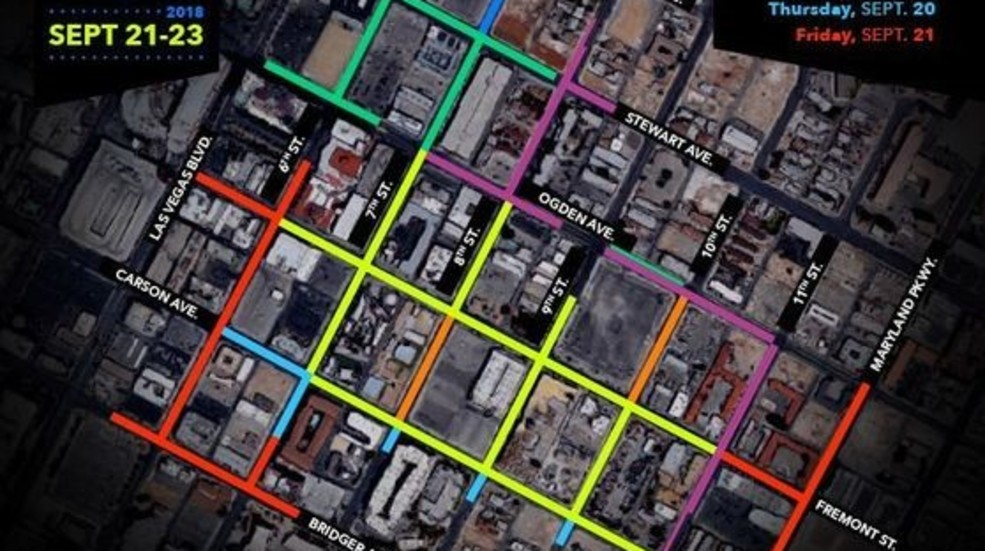 Street Closures Coming To Downtown Las Vegas For Life Is Beautiful