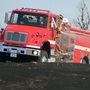 40 firefighters battle grass fire near Kearney