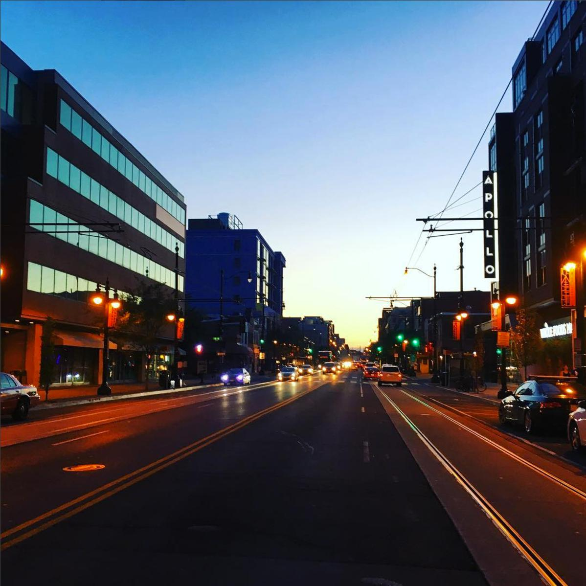 H Street has been experiencing some major development lately, but it hasn't lost its charm and unique vibe. (Image via @clarkmorris)