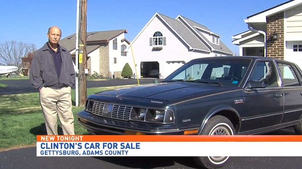 Local man selling Hillary Clinton\'s old car | WHP