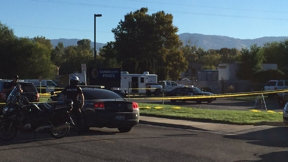 the shooting happened in september after bauer crashed a car into the garden city police department building officers fearing for their safety - Garden City Police Department