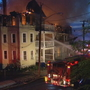 Conn. fire injures 4 firefighters, destroys 4 buildings