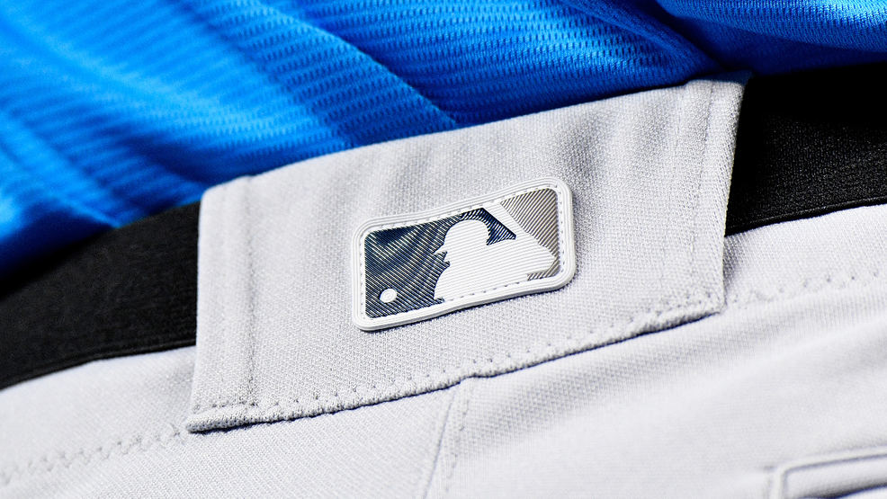Redesigned MLB team logos