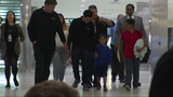 Separated Mother and Son are reunited at BWI airport
