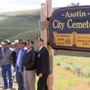 Asotin City Cemetery has new sign to welcome visitors