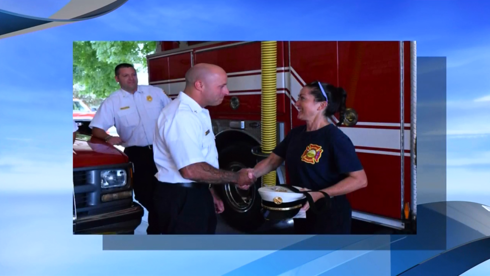 Battle Creek native announced as first woman fire battalion chief in department history | WWMT