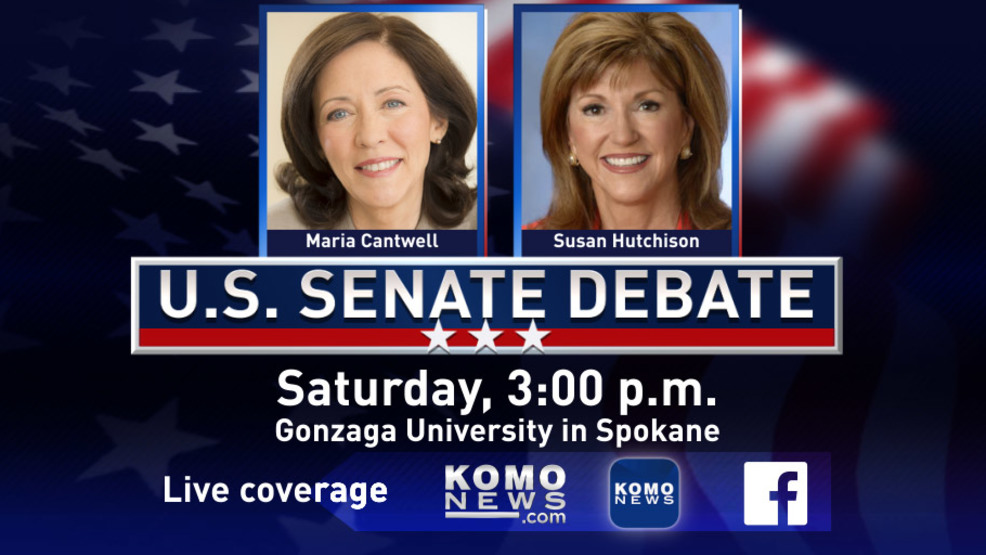 Cantwell, Hutchison set for second debate ahead of mid-terms