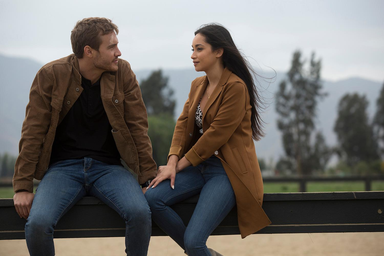 On the second explosive episode this week, airing on a special night, WEDNESDAY, FEB. 5 (8:00-10:00 p.m. PST), on ABC, Peter will need to concentrate on his developing relationships in Santiago, the vibrant capital of Chile. His first date raises serious concerns when she reveals she has never been in love before. Can she convince Peter that she is ready to settle down and get married? Another woman is getting a second one-on-one date causing a furor with one devastated bachelorette who hasn't even had one yet. 'The Bachelor' airs on KOMO 4. (ABC/Francisco Roman)