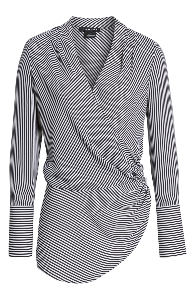 Trouve Wrap Blouse -- Sale: $52.90 / After Sale: $79{ }(Image: Courtesy Nordstrom)