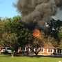 Crews fighting fire at Camp Bow Wow