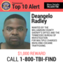 Williamson County gang member added to TBI Top 10 Most Wanted List