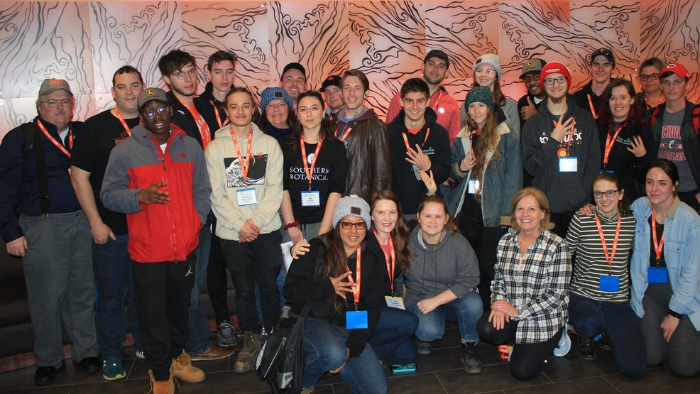 Cincinnati State landscape students take 4th place overall at national competition
