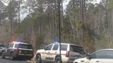 Multiple agencies tracking truck driver who bailed out and ran into woods at AL/FL line