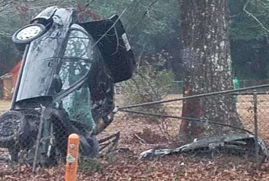 Photo:  Crash on Highway 297A claimed the life of a Cantonment woman Saturday morning Source: NorthEscambia.com