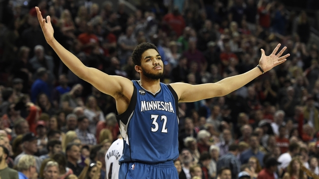 Karl Anthony-Towns promised coach Thibodeau Wolves would beat Spurs