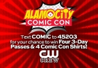 Comic Con Giveaway: 3-day passes, lanyards & t-shirts