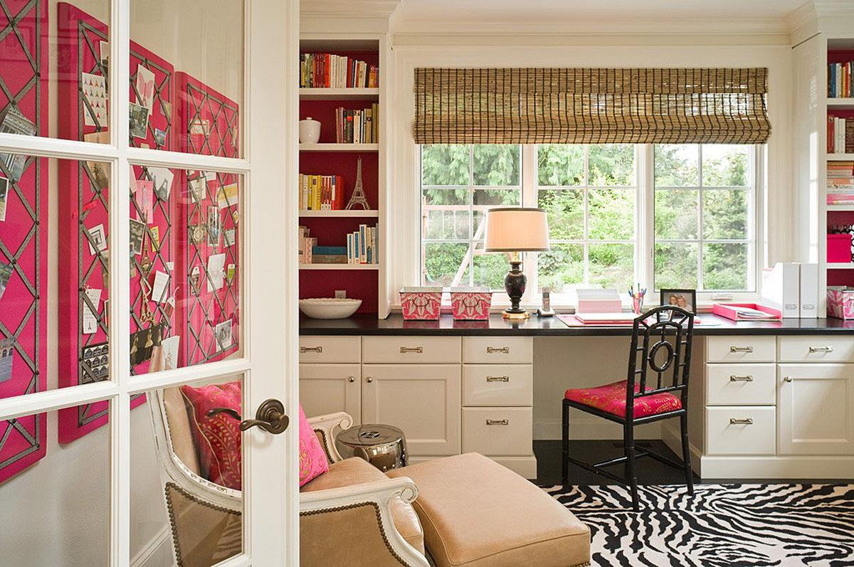 A Medina home office remodel by Graciela Rutkowski Interiors.  (Image: Medina / Porch.com)