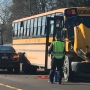 Students recount New London school bus/semi crash
