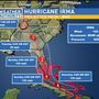 Hurricane Irma now a Category Four storm; still tracking toward Florida