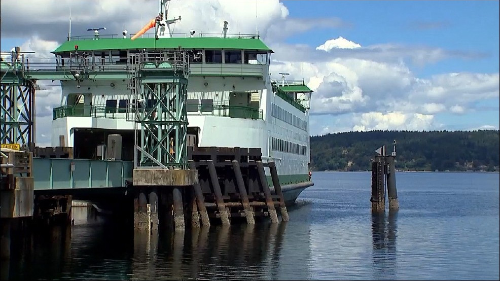 KVI picks up where state ferry officials stop on ideas for ferry dock problem(s)