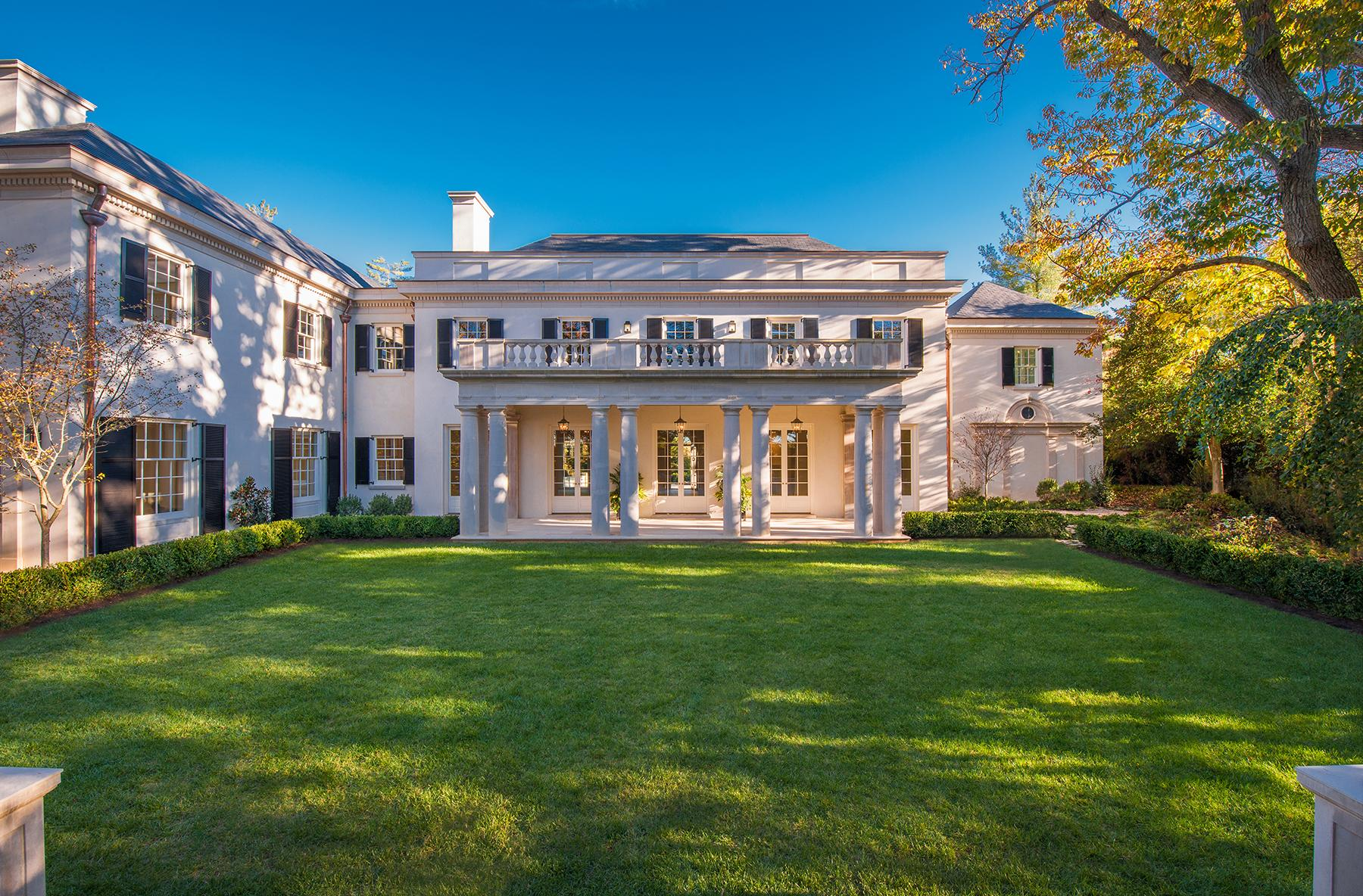 This property was once owned by one of Washington's most philanthropic families, but after their home was burned down, the land was acquired to develop as an estate property which was completed in 2016. Listed at $22 million, it's now the most expensive listing on the market in the DMV. (Image: Maxwell MacKenzie)