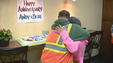 Couple celebrates wedding anniversary at Grand Chute Home Depot