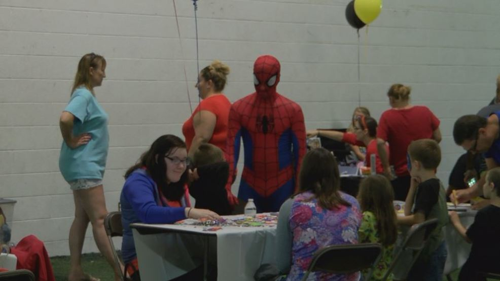 Superhero boot camp held for children with autism wrgb for 16 camp terrace albany ny