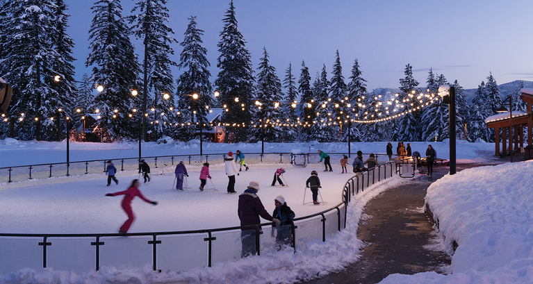 Suncadia offers mountains of winter adventure from tubing to cross country skiing, ice skating and more! (image: Suncadia)