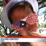 Hot dog eating competition takes place at Sertoma's 4th of July Celebration
