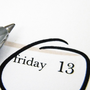 Superstitions around Friday the 13th