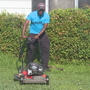 "Man mows lawns for Arkansans in need as part of his ""50 States 50 Lawns"" tour"