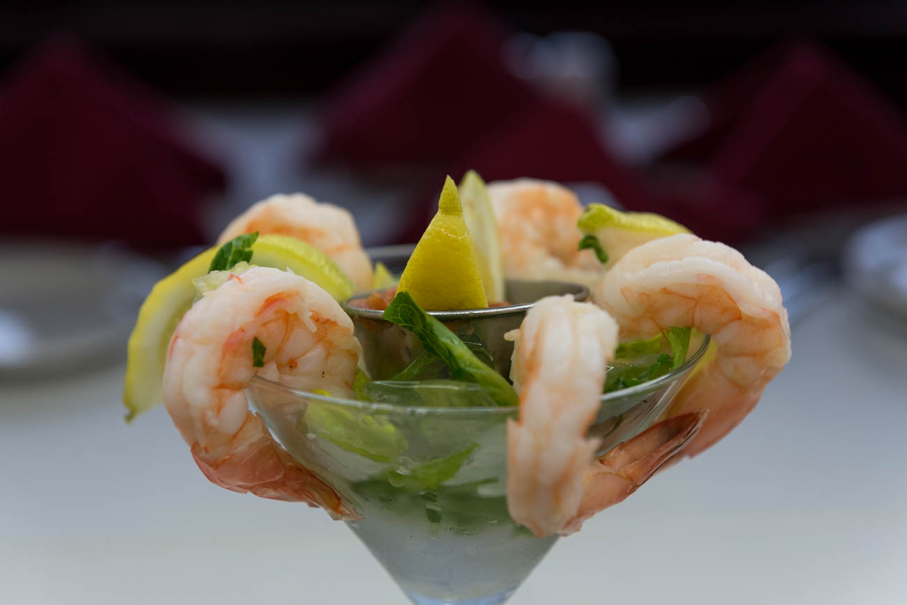 Shrimp cocktail / Image: Mike Menke // Published: 6.16.18