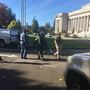 Suitcase at Washington governor's office draws bomb squad