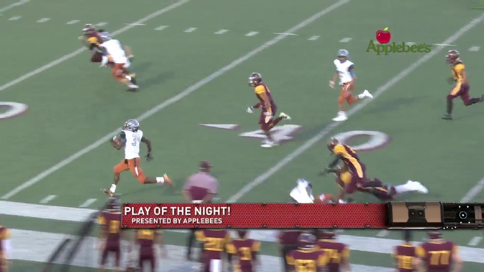 Play of the night: Pebble Hill's Orlando Puig to Kevin Avarette