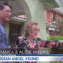 Mystery 'guardian angel' reunited with rescued 94-year old