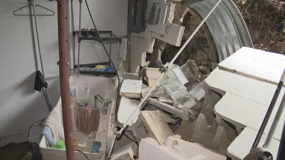 Life is slowly getting back to normal for an Upper Arlington family forced from their home following the collapse of the foundation of their home. (WSYX/WTTE)
