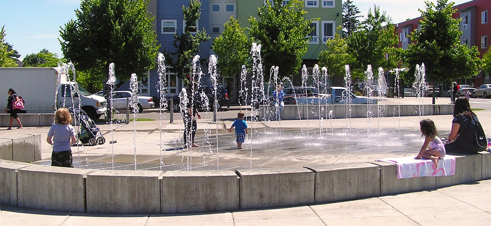 McCoy Park water play. Foto cortesía PP&amp;R<p></p>