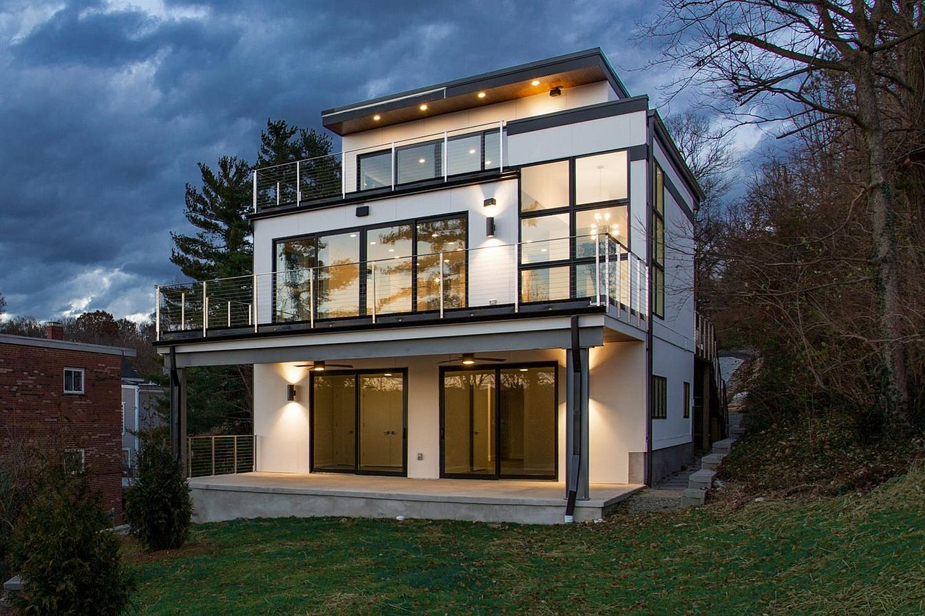 <p>430 Whitman Court in Hyde Park - $1,375,000 / This LEED Platinum-certified custom home has four bedrooms, three and a half bathrooms, and spans 3,200 square feet. Its modern design utilizes walls of massive windows to blend the inside with nature outside, with a view of the Ohio River and the city in the distance. Also, there's room to add an elevator if you want! / Our favorite feature: It has two spacious decks overlooking the river below, which is an abundance of luxuries if you ask us! / Image:{&nbsp;}Lisa VonLuehrte of LiVon Photography // Published: 1.9.20</p>