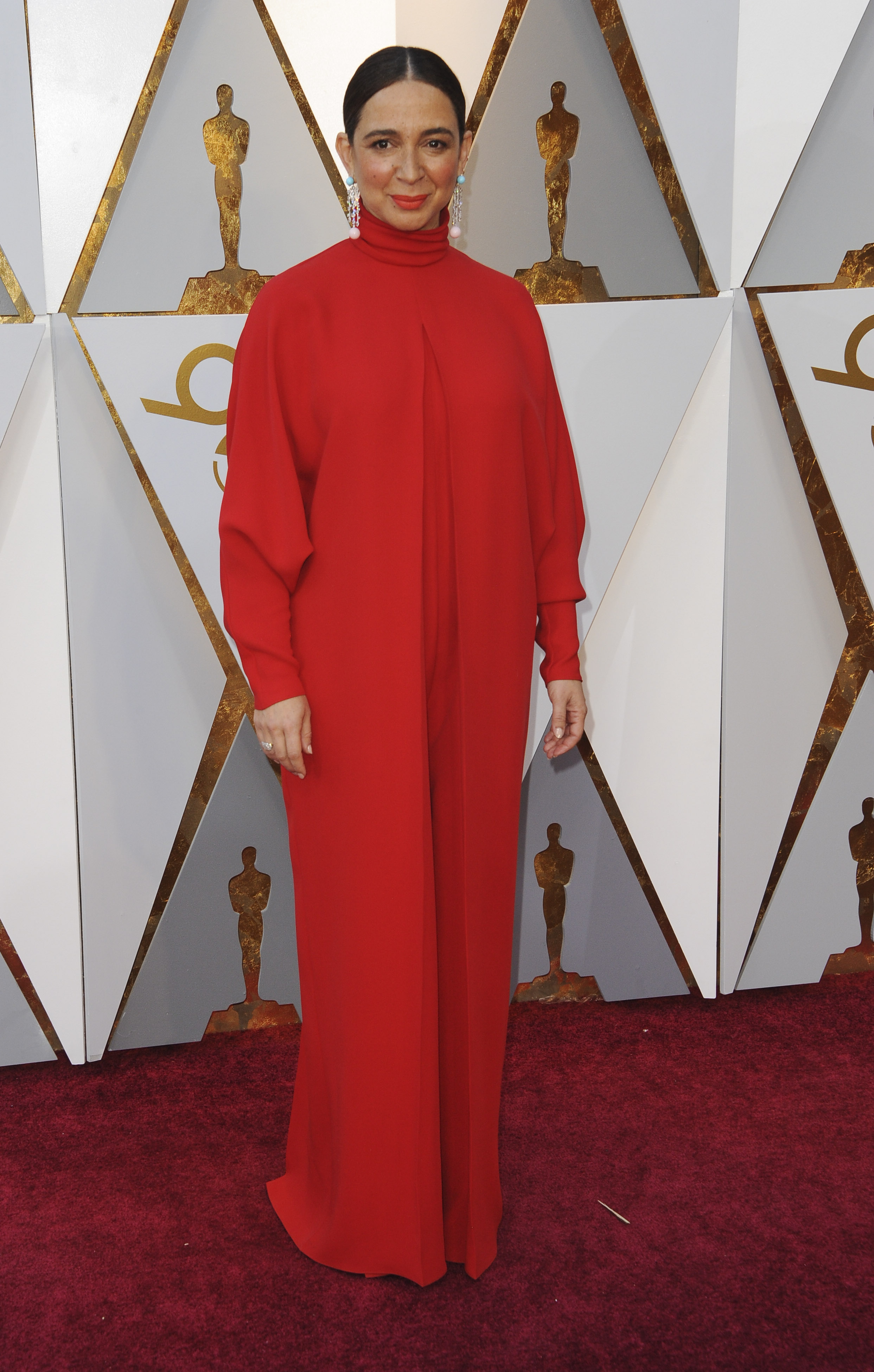{&amp;nbsp;}Maya Rudolph arrives at the 90th Annual Academy Awards (Oscars) held at the Dolby Theater in Hollywood, California. (Image: Apega/WENN.com)<p></p>