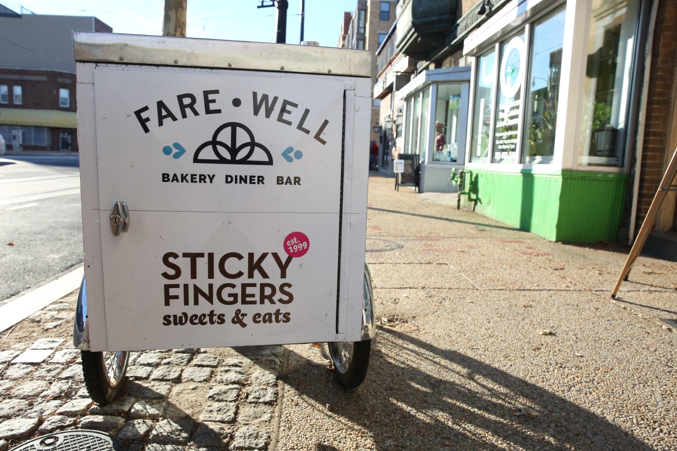 Fare-Well is one of H Street's newer eateries, but this bar/bakery/diner is so good you won't remember the food is vegan. (Amanda Andrade-Rhoades)