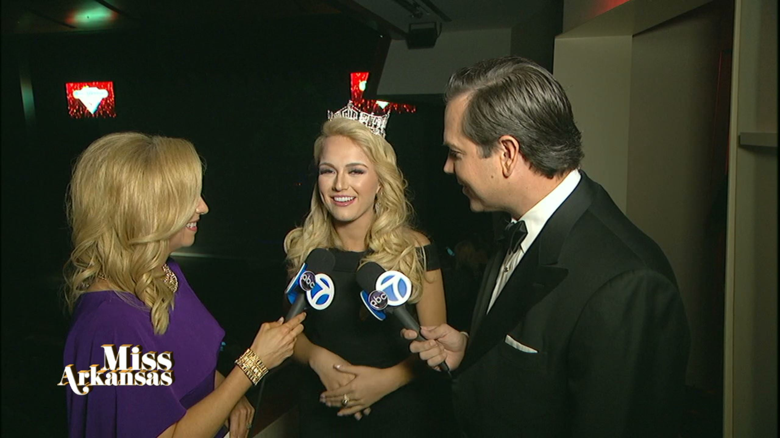 Channel 7 talks with Miss America Savvy Shields. (Photo: KATV)