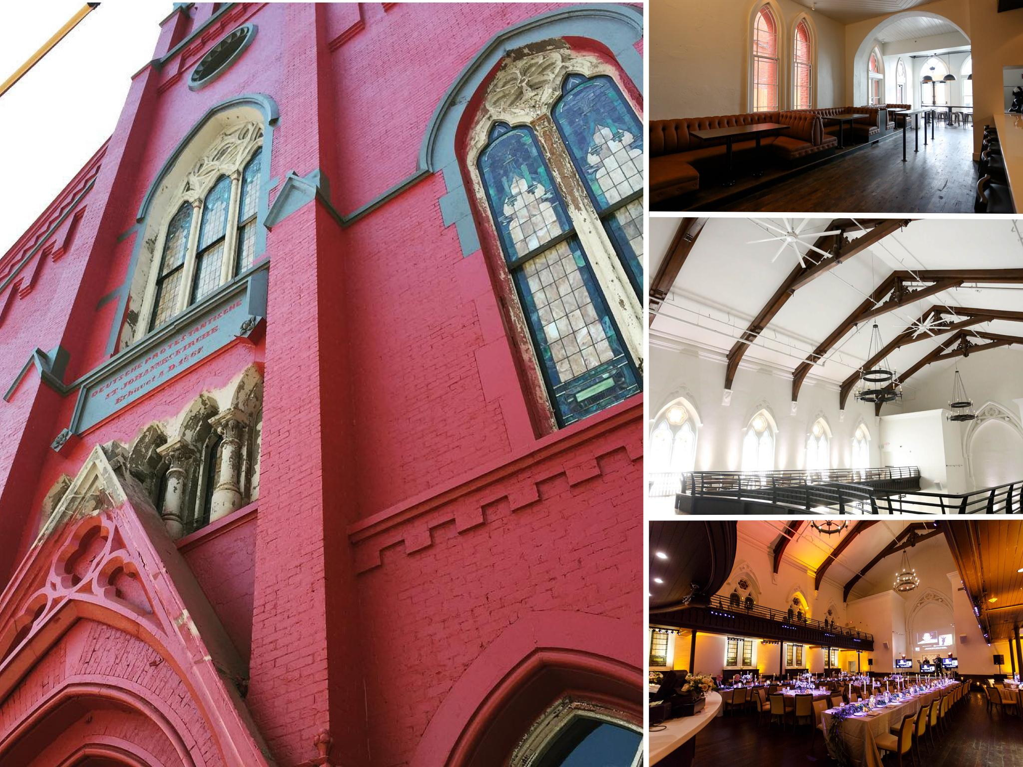 THE TRANSEPT (After) / ADDRESS: 1205 Elm Street (45202) / CREDIT: $490,000 / PREVIOUSLY: St. John's Church / Images courtesy Leah Zipperstein and The Transept