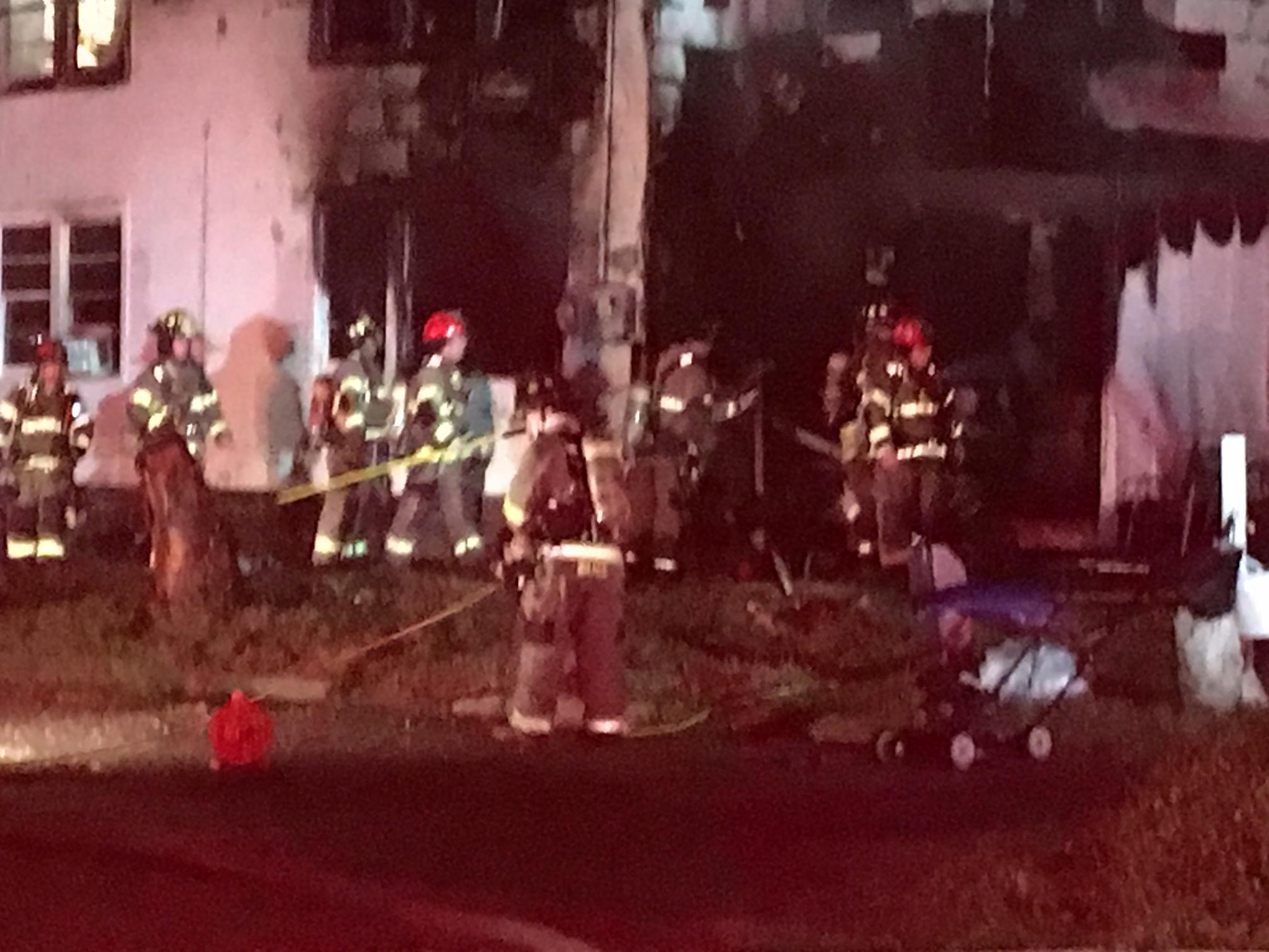 Crews responded to a house fire in Myrtle Beach Tuesday evening. (WPDE)<p></p>