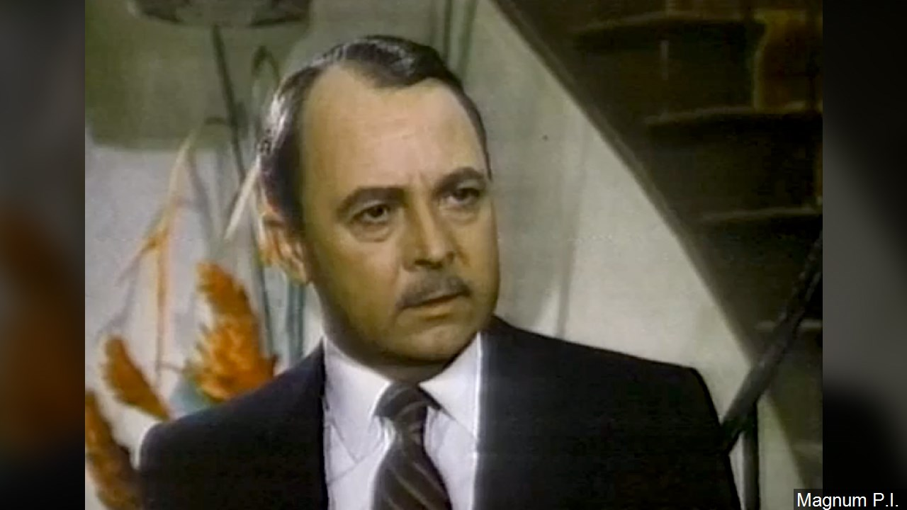 Actor John Hillerman died Nov. 9, 2017. He was 84.(Magnum P.I./MGN Online)<p></p>