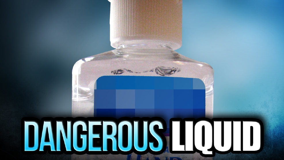Hand sanitizer as poison for adults agree, the